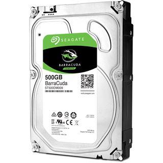 "500GB Seagate BarraCuda ST500DM009 32MB 3.5"" (8.9cm) SATA 6Gb/s"