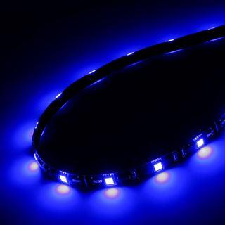 Akasa Vegas M LED-Strip, 15 LEDs, 50 cm - blau