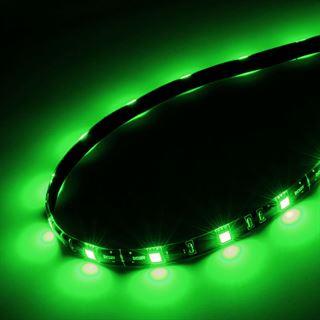 Akasa Vegas M LED-Strip, 15 LEDs, 50 cm - grün
