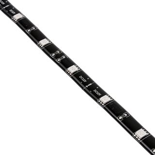 Akasa Vegas M LED-Strip, 15 LEDs, 50 cm - rot