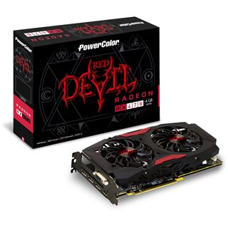 4GB PowerColor Radeon RX 470 Red Devil Aktiv PCIe 3.0 x16 (Retail)