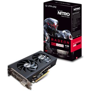 4GB Sapphire Radeon RX 460 Nitro Aktiv PCIe 3.0 x16 (x8) (Retail)