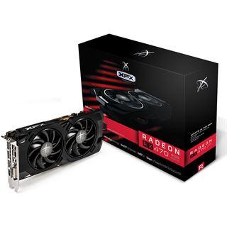4GB XFX Radeon RX 470 Black Edition OC Aktiv PCIe 3.0 x16 (Retail)
