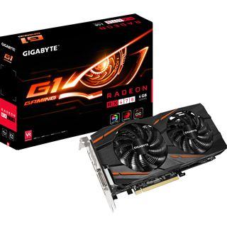 4GB Gigabyte Radeon RX 470 Gaming G1 Aktiv PCIe 3.0 x16 (Retail)