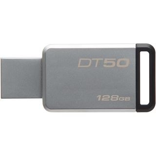128 GB Kingston DataTraveler 50 schwarz USB 3.0