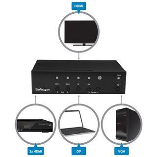 Startech DP VGA HDMI CONVERTER SWITCH