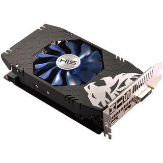 2GB HIS Radeon RX 460 iCooler OC Aktiv PCIe 3.0 x16 (x8) (Retail)