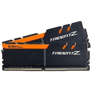 32GB G.Skill Trident Z schwarz/orange DDR4-3200 DIMM CL15 Dual Kit