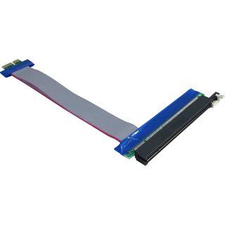 Inter-Tech PCI-E 1x auf 16x Riser Kabel 0.15m