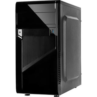 Inter-Tech MA-09 Midi Tower 500 Watt schwarz