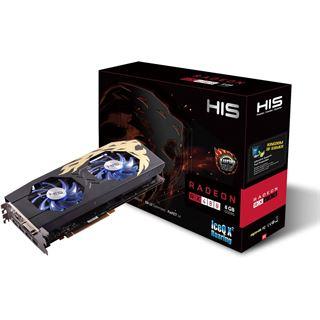 8GB HIS Radeon RX 480 IceQ X² Turbo Aktiv PCIe 3.0 x16 (Retail)