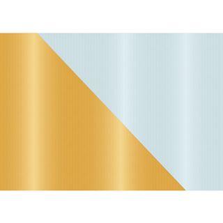 """Susy Card Weihnachts-Geschenkpapier """"gold/silber"""", Rolle"""