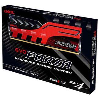 16GB GeIL Evo Forza rot DDR4-3000 DIMM CL15 Dual Kit