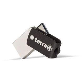 64 GB Terra USThree schwarz USB 3.0 und Typ C