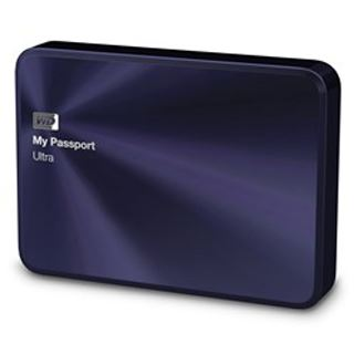 "4000GB WD My Passport Ultra Metal WDBEZW0040BBA-EESN 2.5"" (6.4cm) USB 3.0 blau/schwarz"