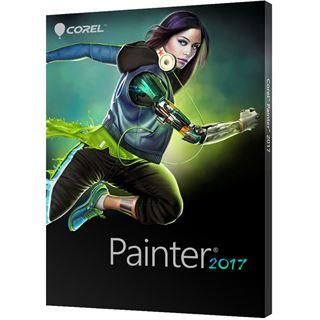 Corel Painter 2017 32 Bit Deutsch Grafik Zusatzupdate 1 User PC / Mac (DVD)