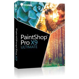 Corel Corel PaintShop Pro X9 Ultimate 32 Bit Deutsch Grafik Vollversion 1 User PC (DVD)