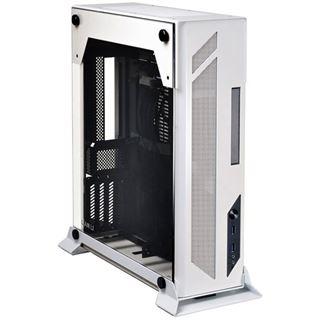 Lian Li PC-O5SW mit Sichtfenster Mini-ITX ohne Netzteil weiss