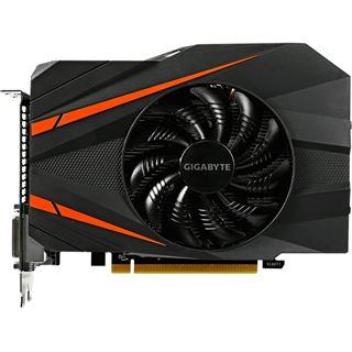 6GB Gigabyte GeForce GTX 1060 Mini ITX OC Aktiv PCIe 3.0 x16 (Retail)