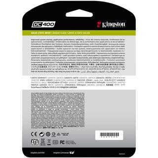 "960GB Kingston SSDNow DC400 2.5"" (6.4cm) SAS 6Gb/s (SEDC400S37/960G)"