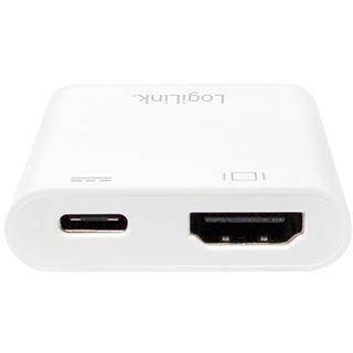 Logilink Adapter USB 3.1 Typ C > HDMI & Displayport 1.2