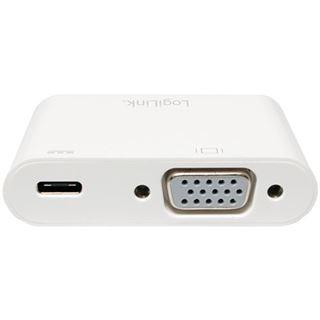 Logilink Adapter USB 3.1 Typ C > VGA,Displayport 1.2