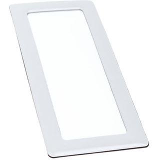 DEMCiflex Staubfilter 2x40mm, quadratisch - weiß/weiß