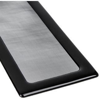 DEMCiflex Staubfilter 260mm x 80mm - schwarz/schwarz