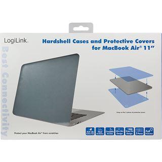 """LogiLink Schutzhülle für 11"""" MacBook Air, stahlgrau"""