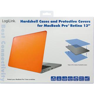 """LogiLink Schutzhülle für 13"""" MacBook Pro Retina, orange"""