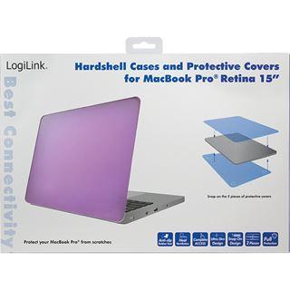 """LogiLink Schutzhülle für 15"""" MacBook Pro Retina, lavendel"""