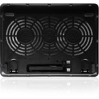 Ewent EW1256 Notebook Kühlpad mit 2 Lüftern
