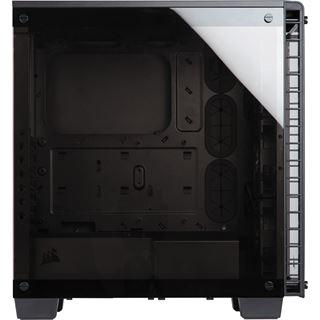 Corsair Crystal 460X RGB mit Sichtfenster Midi Tower ohne Netzteil schwarz