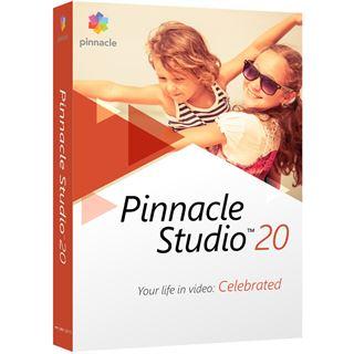 corel Pinnacle Studio 20.0 32 Bit Multilingual Multimedia Vollversion 1 User P (DVD)