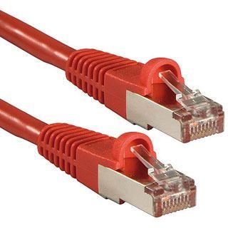 (€1,32*/1m) 7.50m Lindy Cat. 6 Patchkabel S/FTP RJ45 Stecker auf RJ45 Stecker Rot
