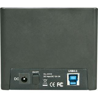 Lindy USB 3.0 Docking & Clone Station Basic für 2