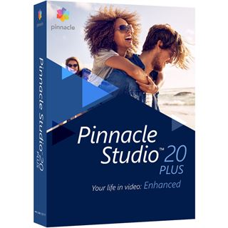 Corel Pinnacle Studio 20.0 Plus 32 Bit Multilingual Videosoftware Vollversion PC (DVD)