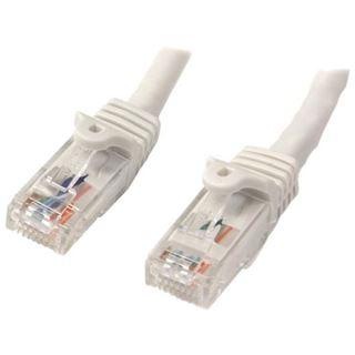 (€1,19*/1m) 10.00m Startech Cat. 6 Patchkabel Ethernet RJ45 Stecker auf RJ45 Stecker Weiß