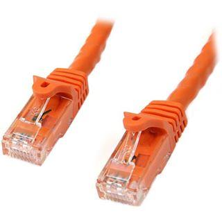 (€1,19*/1m) 10.00m Startech Cat. 6 Patchkabel Ethernet RJ45 Stecker auf RJ45 Stecker Orange