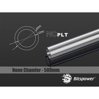 BitsPower None Chamfer PETG Link Tube 16/12mm, 50cm - transparent