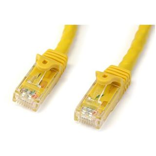 (€1,56*/1m) 7.00m Startech Cat. 6 Patchkabel UTP RJ45 Stecker auf RJ45 Stecker Gelb PVC