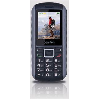 Beafon AL550 ActiveLine Handy, Outdoor, schwarz-silber