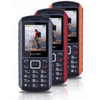 Beafon AL550 ActiveLine Handy, Outdoor, schwarz-orange