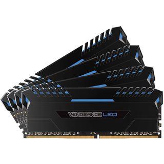 32GB Corsair Vengeance LED blau DDR4-3200 DIMM CL16 Dual Kit
