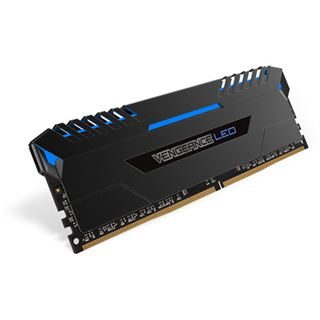 32GB Corsair Vengeance LED blau DDR4-3000 DIMM CL15 Dual Kit