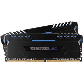 16GB Corsair Vengeance LED blau DDR4-3000 DIMM CL15 Dual Kit