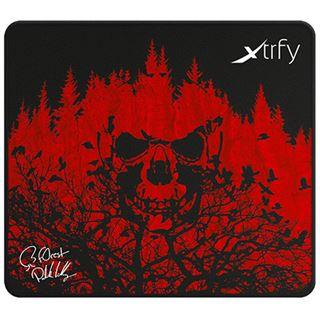 Xtrfy XTP1-L4-FO-1 f0rest Edition 460 mm x 400 mm schwarz/rot