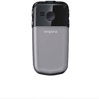 Emporia Comfort V66 Großtasten-Klapphandy, space grau