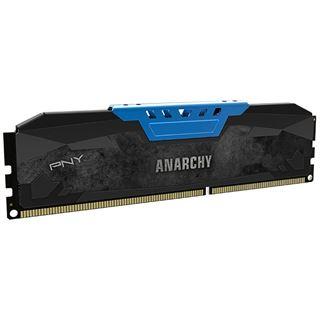 8GB PNY Anarchy blau DDR3-2133 DIMM CL10 Dual Kit