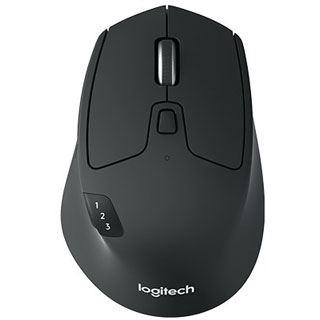 Logitech M720 Triathlon USB und Bluetooth schwarz (kabellos)
